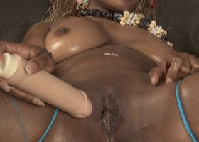 Catalina Pussycat Ebony Doll