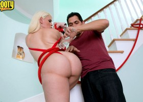 Busty blonde Bedeli B. gets rich and creamy